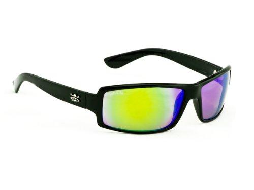 Kalkutta New Wave Sonnenbrille, Herren damen, schwarz