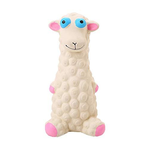 Lomsarsh Naturlatex Schafmolaren Reinigung Zähne klingende Spielzeug Hund liefert Ausbildung Spielzeug Biss Molaren Spielzeug Latex Schafe