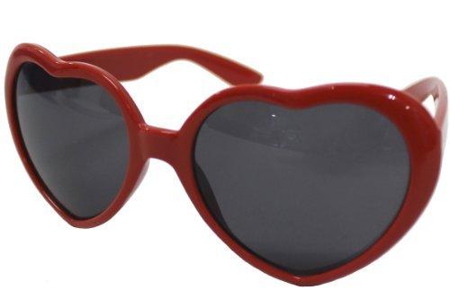 n-Herz-Sonnenbrille (Datum Glaser) (Parodie Waren) ()