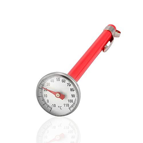 XXJF Termómetro for Alimentos Acero Inoxidable Medición de Alta y Baja Temperatura Diseño de dial...