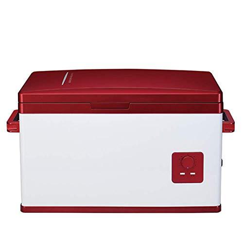 Auto Kühlschrank Peaceip 30L Autokompressor Kühlschrank kleinen Kühlschrank Auto und Haushaltsinsulin tragbaren Kühlschrank Heizung und Kühlbox 12V / 24V / 220V - Ruck Fleisch