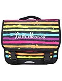Cartable 41cm Little Marcel Noir RESTOIR POIS Multicolores RESTOR POIS