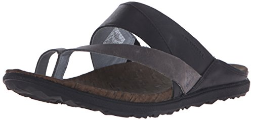 Merrell Around Town Thong Damen Zehentrenner Black