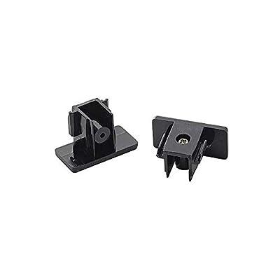 SLV Endkappen für 1-Phasen HV-Stromschiene Aufbauversion, 2 Stück, schwarz 143130 von SLV bei Lampenhans.de