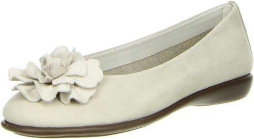 The Flexx Damen Ballerinas weiß, Größe:37, Farbe:Weiß (Die Flexx-frauen-schuhe)