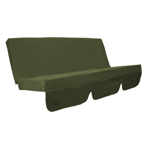 water-resistant-swing-seat-bench-cushion-for-garden-hammock-in-olive-green