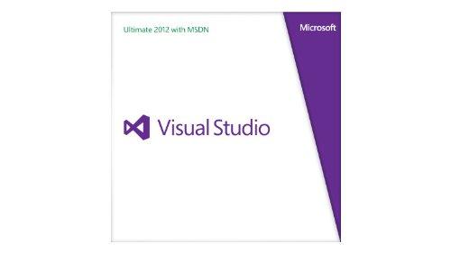 Vollversion / Microsoft® Visual Studio Ultimate wMSDN Rtl 2012 German Programs 1 License Medialess Renewal / Deutsch Programs DVD