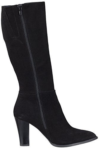 TAPODTS Alberti 1.1, Bottes Hautes Classique Femme Noir - Noir