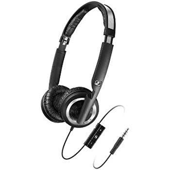 Sennheiser PX 200-II i Dynamic Closed On-Ear Headset with Smart Remote and Mic to Control iPhone