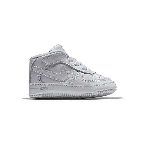 watch f95d4 3e1a1 Nike Force 1 (CB), Chaussures pour Nouveau-né bébé garçon, Blanc
