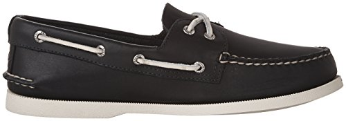 Sperry Herren A/O 2-Eye Lea Navy Bootsschuhe Blau (Navy)