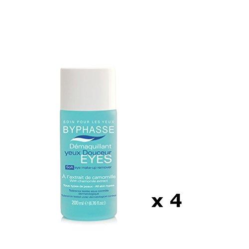 Lot de 4 - Démaquillant yeux Douceur - Tous types de peaux - 200 ml