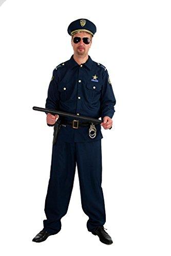 Dolce Idea Costume Poliziotto Adulto (CHAKS) Carnevale (L)