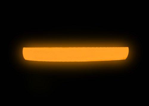 """Hunde Leuchthalsband LED Halsband Hundehalsband Hunde-Halsband """"Zandoo"""" Leuchthalsband inkl. Batterie für Hunde Katzen Haustiere in der Farbe orange Größe M (ca. 40-50 cm) NEU von der Marke PRECORN - 4"""