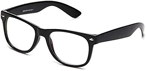 Xforia anti glare fancy wayfarer sunglasses for women & men (DX-FLX- 273 | plain | 54 MM)