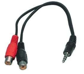 Valueline CABLE-406 Câble stéréo jack 3,5 mm Male/2 RCA Femelles