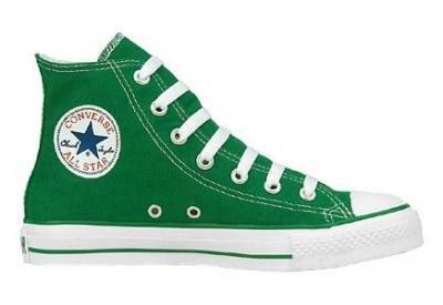 Converse Chuck Taylor All Star Season Hi, Derby femme Vert (Vert Petant)