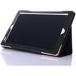 AKNICI Slim Folio Hülle Case Tasche, Kompatibel für Kivors 10,1 Zoll Tablet PC, Haehne 10,1 Zoll Tablet PC, JINYJIA 10.1 Zoll Tablet PC Etc - Schwarz