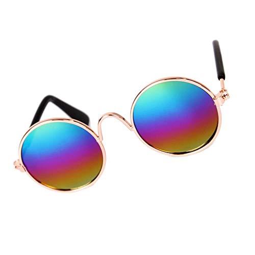 Zerama Kleintiere Hunde Katzen UV-Sonnenschutzbrillen Welpen Kitten Sommer Grooming Fotografie Sonnenbrille