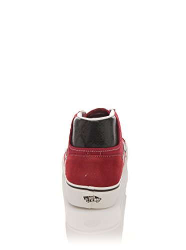 Vans MID SKOOL 77 CA, Scarpe da Skateboard donna Rosso suede rio red Rosso (suede rio red)