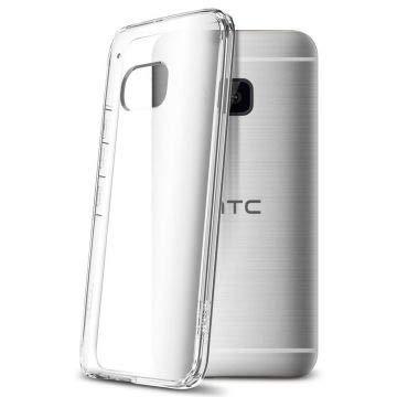 Spigen Schutzhülle HTC One M9 Hülle ULTRA HYBRID [Air Cushion-Technologie zur Stoßdämpfung] - Tasche für HTC One M9, durchsichtige Rückschale - Crystal Clear [Crystal Clear - SGP11385]
