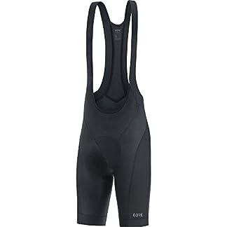Gore Wear, Hombre, Peto Corto Transpirable de Ciclismo, con badana, Gore C3 Bib Shorts+, 100033