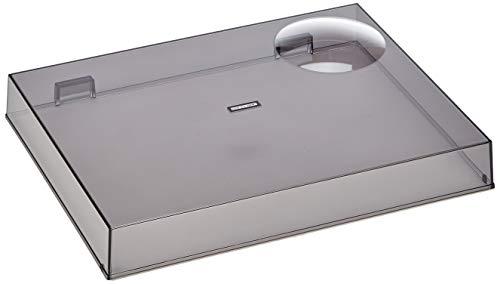 Reloop RP-7000/8000 Abdeckhaube - Klappbarer Acryl Plattenspieler Staub- und Schmutzschutz, passgenau für Reloop RP-7000/8000 (transparent schwarz)