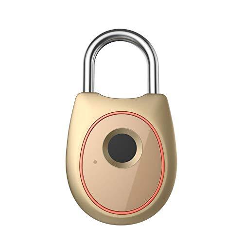 leine intelligente Bluetooth elektronische Sperre kleine Sperre Fahrradsperre Studentenwohnheim Sperre Schließfachschloss (Color : Gold) ()