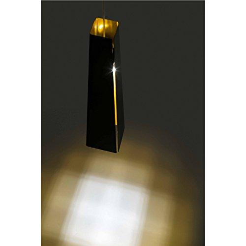 Barcelona Pendelleuchte (Faro Barcelona Füllfederhalter 64172–Pendelleuchte inklusive Leuchtmittel LED, 6W, Aluminium, schwarz)