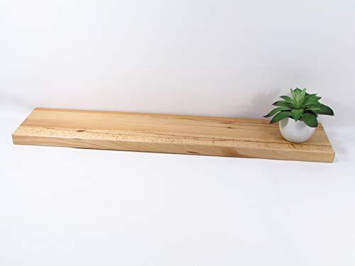 Wandregal/Wandboard Kernbuche 80 cm Schweberegal Regal Board