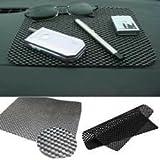 #6: Brand Bites Set of 2 Premium Quality Non Slip Mat for Car Dash Board