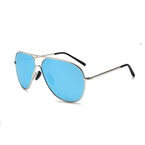 HLMMM Sunglasses Men's And Women's Frog Mirror Polarizer Europe And The United States Trend Sunglasses Retro