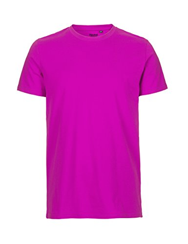 Spirit of Isis Neutral- T-Shirt, 100% Bio-Baumwolle. Fairtrade, Oeko-Tex und Ecolabel Zertifiziert Pink
