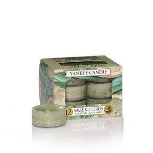 Yankee Candle Salbei & Citrus Tee Lichter Farbe: grün (Grüner Tee-möbel)