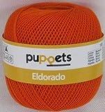 Puppets eldorado 50g Farbe: 7329 - orange - Häkelgarn Stärke 10