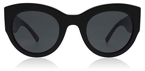 Versace 0ve4353, occhiali da sole donna, nero (black), 51