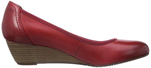 Tamaris 22320, Decolleté chiuse donna Rosso (Rot (Chili 533))