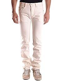 d1c54efcb9 Evisu Men s MCBI27114 White Cotton Jeans