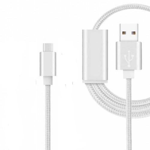 Preisvergleich Produktbild Langlebige USB-Typ C Nylon geflochten Kabel (1Meter) für die Xiaomi Mi Max 2mit High Speed Laden und Daten übertragen von Digi Pig®