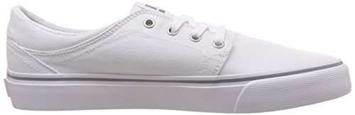 DC Shoes Trase Tx, Baskets mode homme Blanc