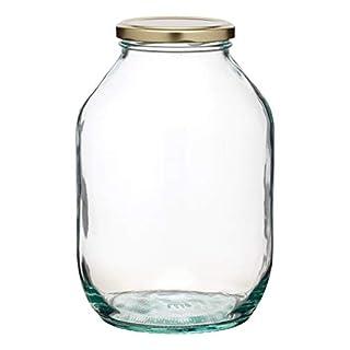 KitchenCraft Home Made Pickling Jar, Glass, 0.5 Gallon (2.25 L)