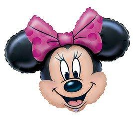 Minnie mouse globo gigante hoja (desinflado)