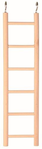 Trixie escalera de madera con seis Rugs, 28cm