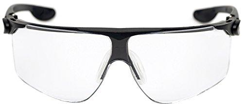 3M MaBall0S Maxim Ballistic Schutzbrille, DX/UV, PC, Klar/Schwarz