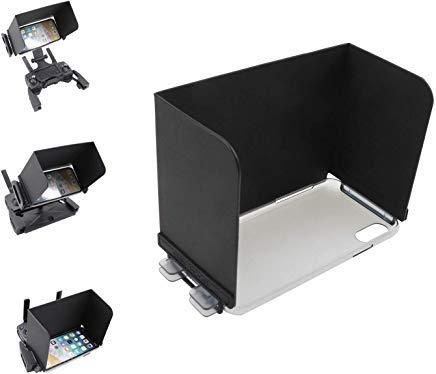 Tineer 5.8\'\' OLED Monitor Sonnenblende-Fernbedienung Sun Hood-Bildschirmabdeckung und Schutzhülle für Das Handy, für DJI Mavic Pro/AIR/Spark/Mavic 2 Zoom/Pro-Serie, Parrot Anafi Drohne und Anderen