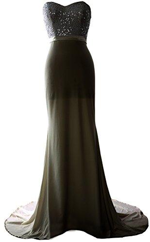 MACloth - Robe - Trapèze - Sans Manche - Femme Noir