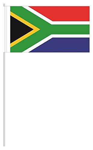 """Preisvergleich Produktbild 10 x Papierfähnchen """"Südafrika"""" - partydiscount24®"""