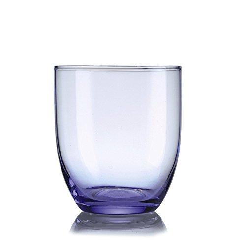 Arzberg Luce Weinglas, Trinkglas, Getränkeglas, Venice Light Blue, Glas, 240 ml, 49903-609017-40331