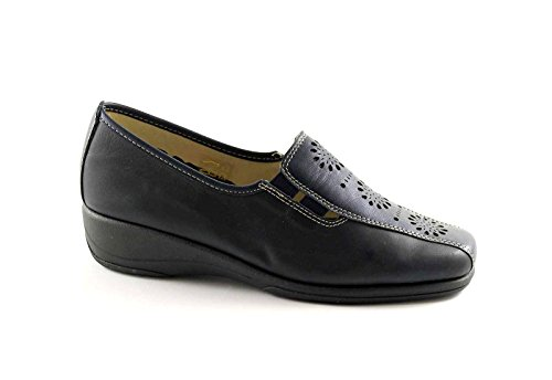 GRUNLAND ROSY SC1240 blu scarpe donna comfort tipo pantofola 36