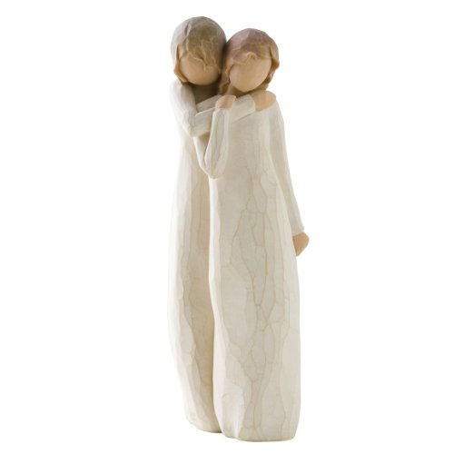 Willow Tree 26153 Figur Chrysalis - Mutter und Tochter, 5,1 x 3,8 x 22,9 cm